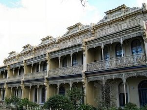 Carlton terrace houses